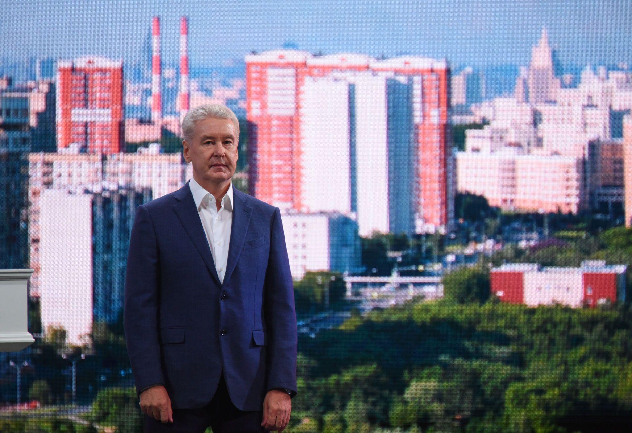 Собянин рассказал о создании нового парка на набережной Марка Шагала