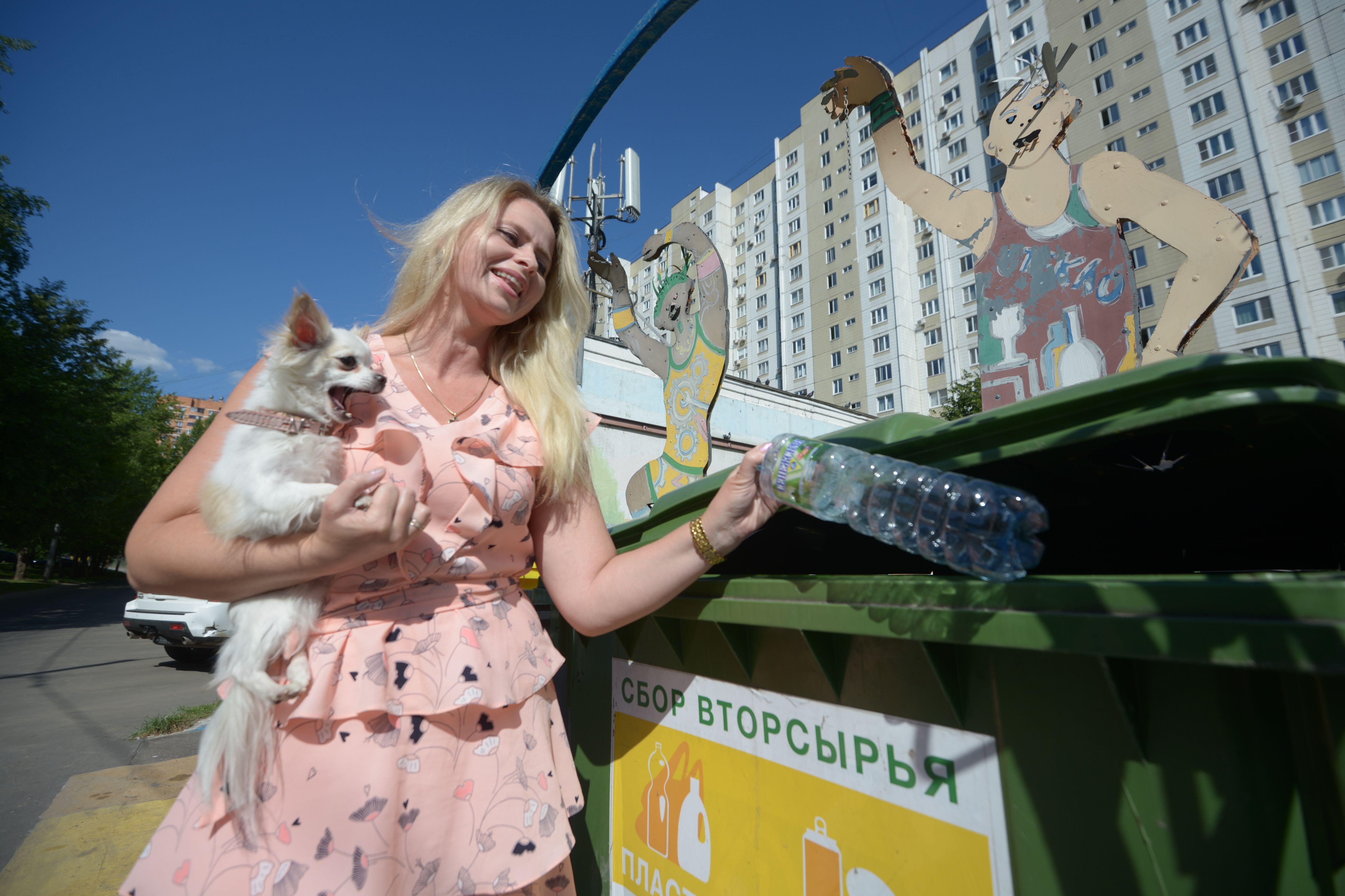 Новые мусорные баки появились в Москве