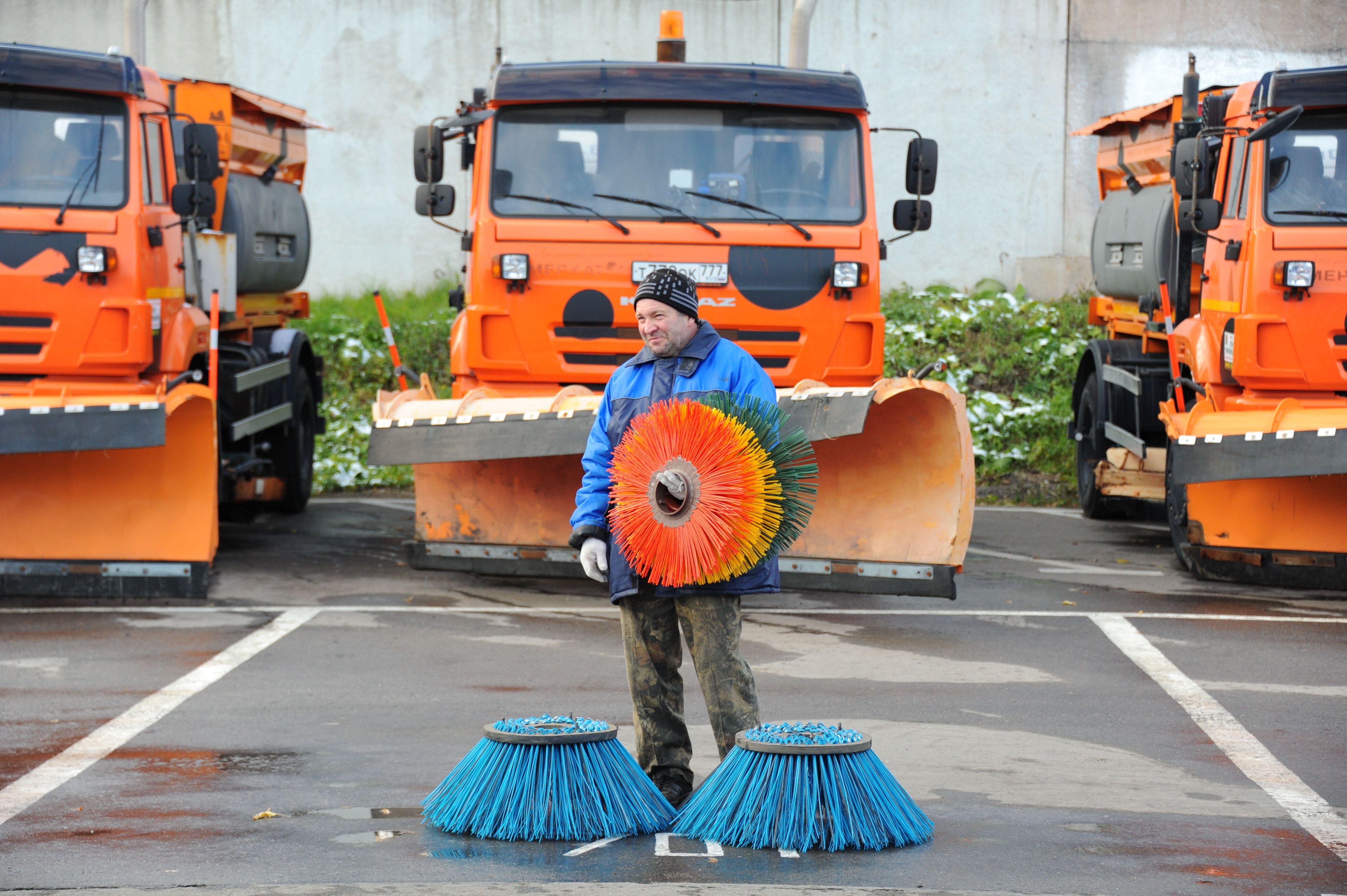 Улицы Москвы обработают специальным моющим средством