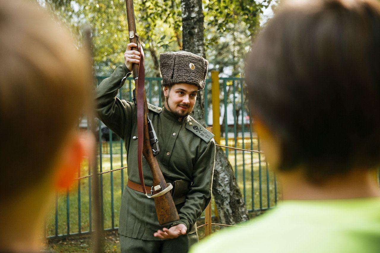 Интерактивную площадку цикла «Равнение на героев» откроют в Орехове-Борисове Южном