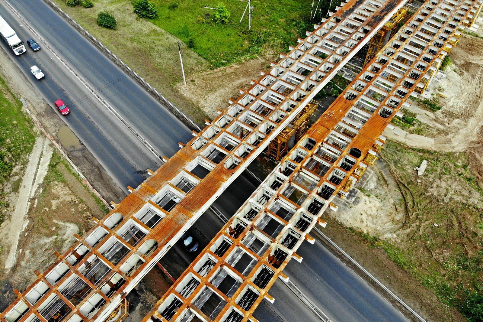 Москва построила и реконструировала 74 километра дорог за восемь месяцев