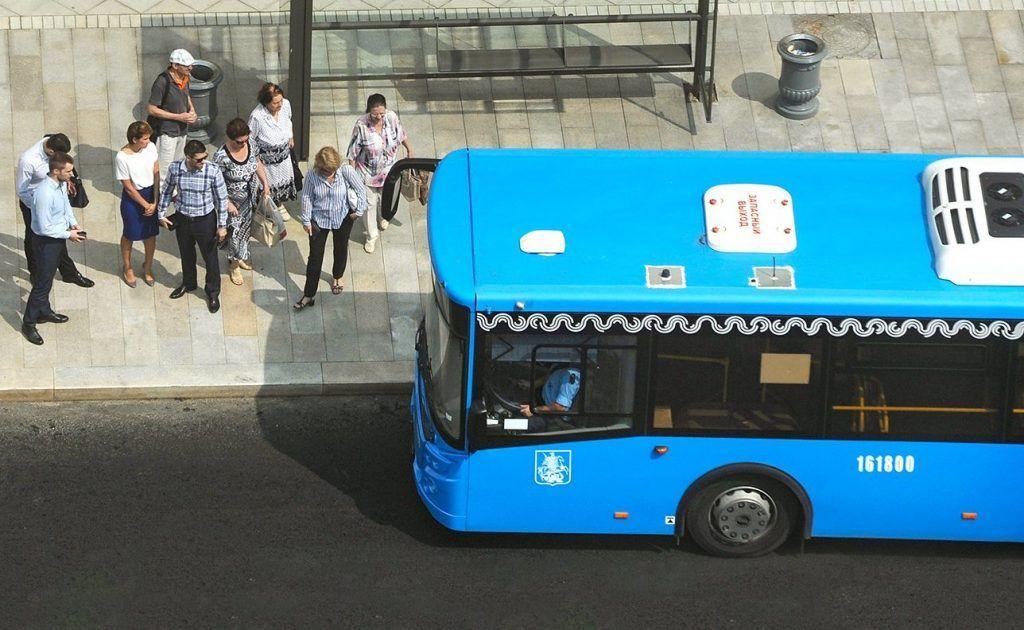 Благоустройство нового автобусного маршрута завершили в Чертанове Центральном. Фото: сайт мэра Москвы