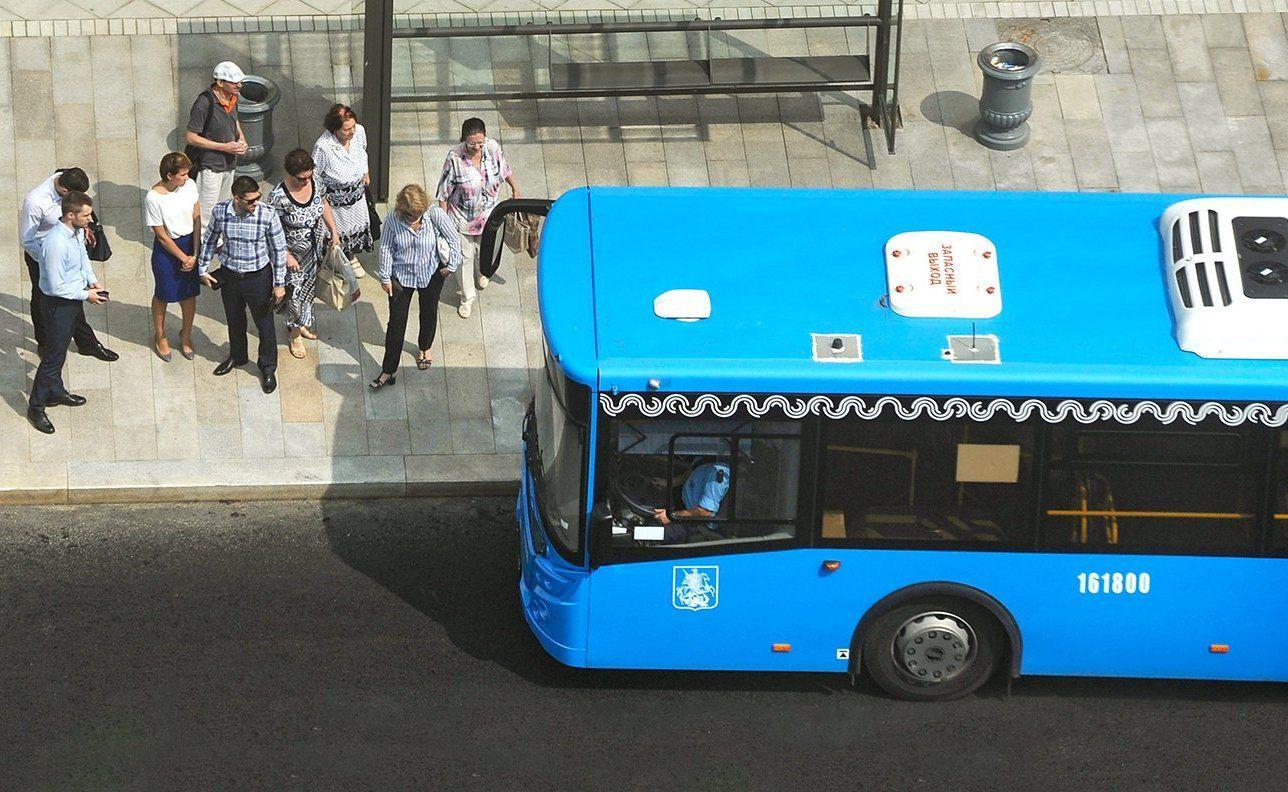 Благоустройство нового автобусного маршрута завершили в Чертанове Центральном