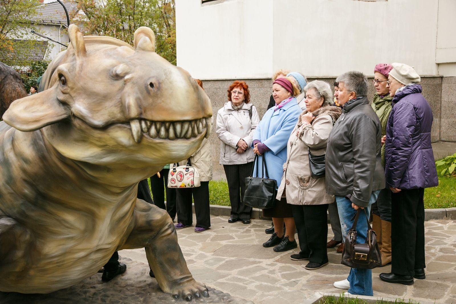 Бесплатные экскурсии проведут для представителей старшего поколения в Дарвиновском музее