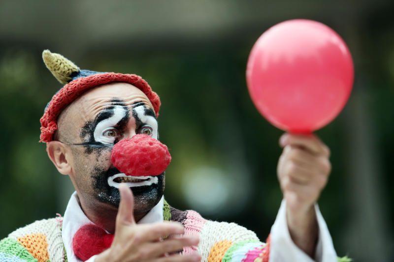 Клоуны пройдут парадом по Бульварному кольцу 14 сентября