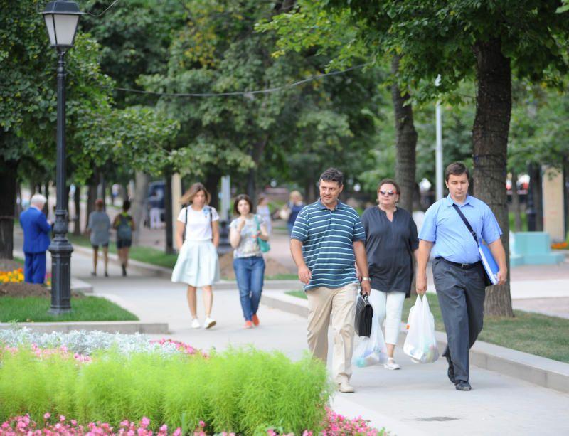 Теплая погода с небольшой облачностью ожидается в столице 8 сентября