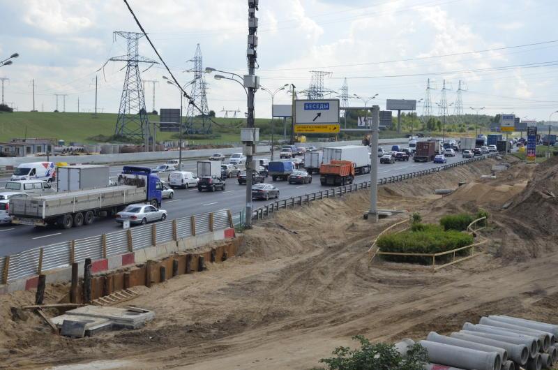 Четыре развязки осталось реконструировать на Московской кольцевой автомобильной дороге