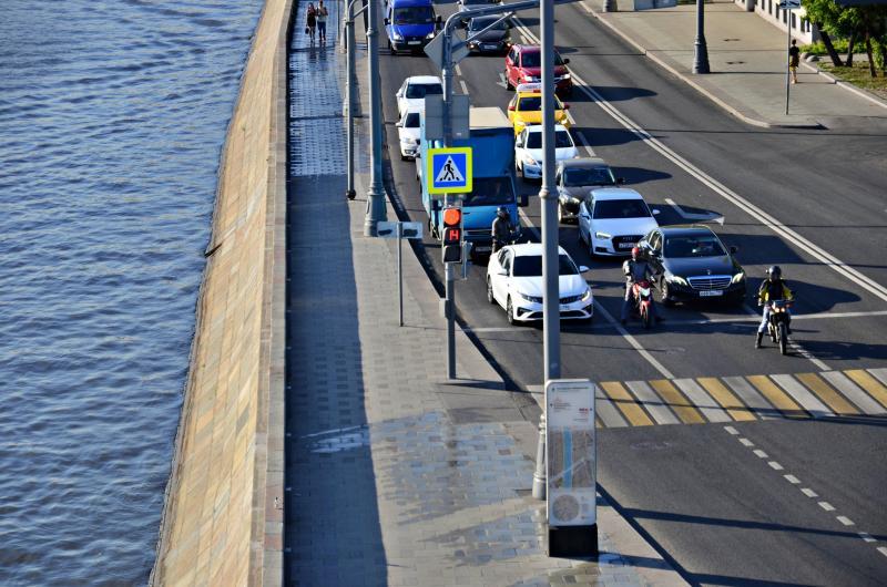 Схема дорожного движения на улицах Москвы изменится в выходные