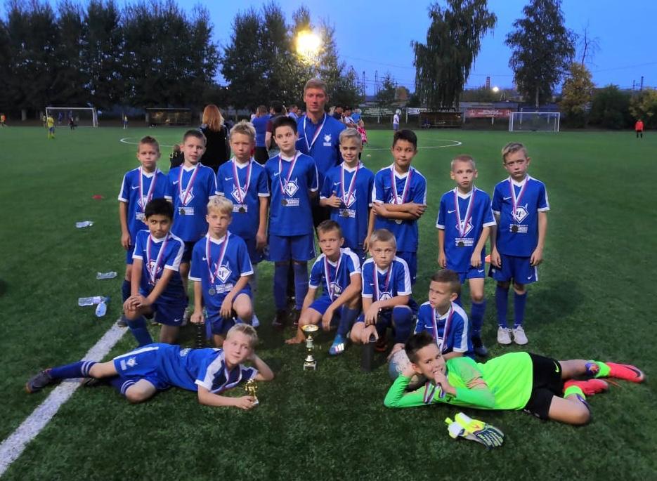 Команда юных футболистов «Чертаново-2» стала вице-чемпионом турнира в Подольске