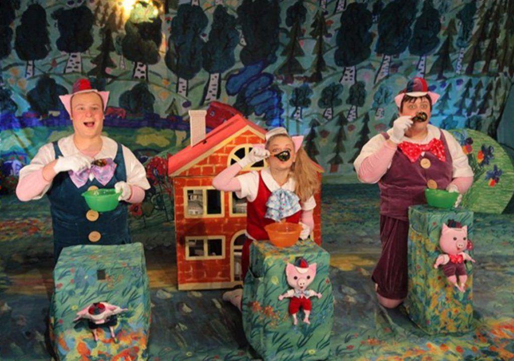 Музыкальный спектакль «Три поросенка» покажут в Доме культуры «Нагатино». Фото: сайт мэра Москвы