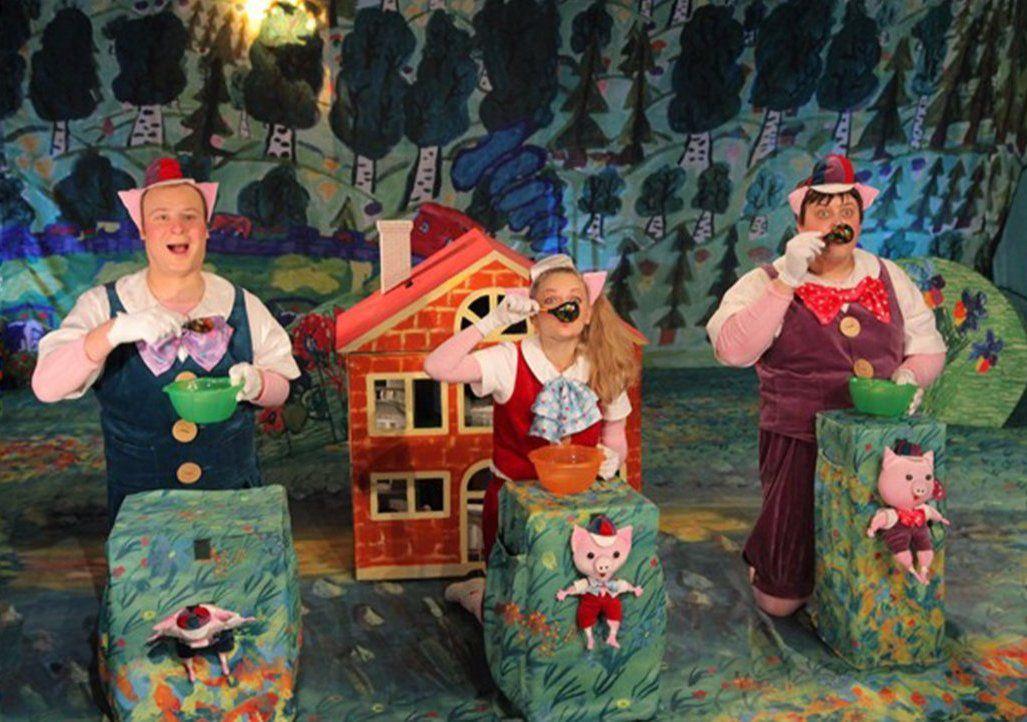 Музыкальный спектакль «Три поросенка» покажут в Доме культуры «Нагатино»