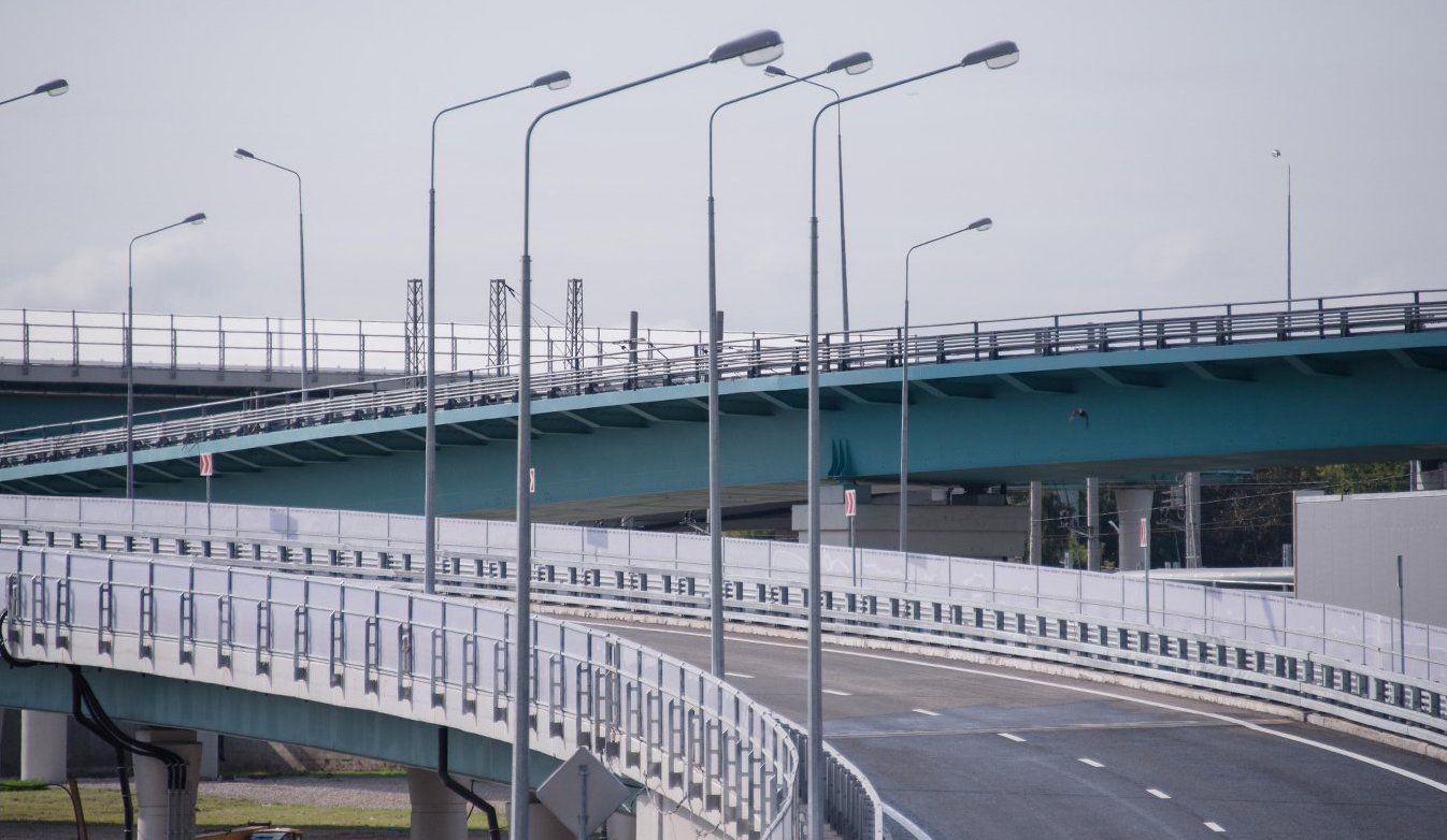 Строительство развязки на юге завершат в 2021 году