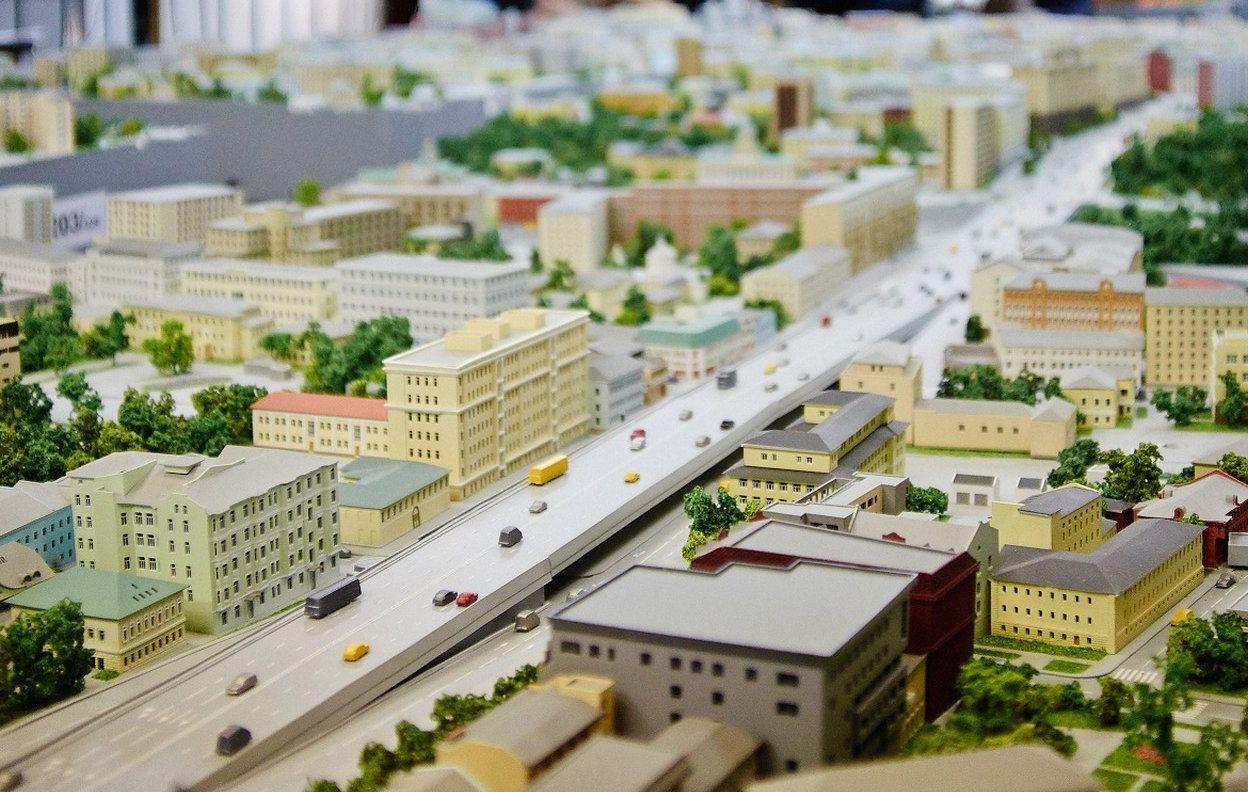 Здания Южного округа включат в макет Москвы