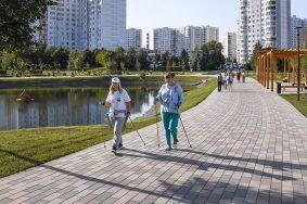 Спорт на свежем воздухе: Фото: сайт мэра Москвы