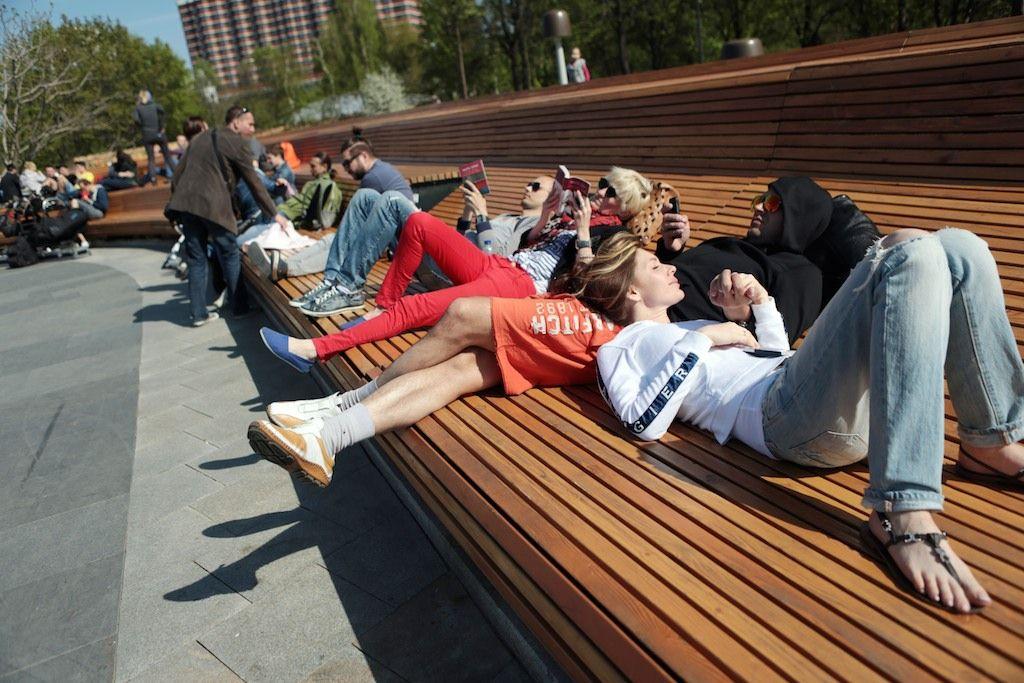 Московские выходные принесут очередное потепление