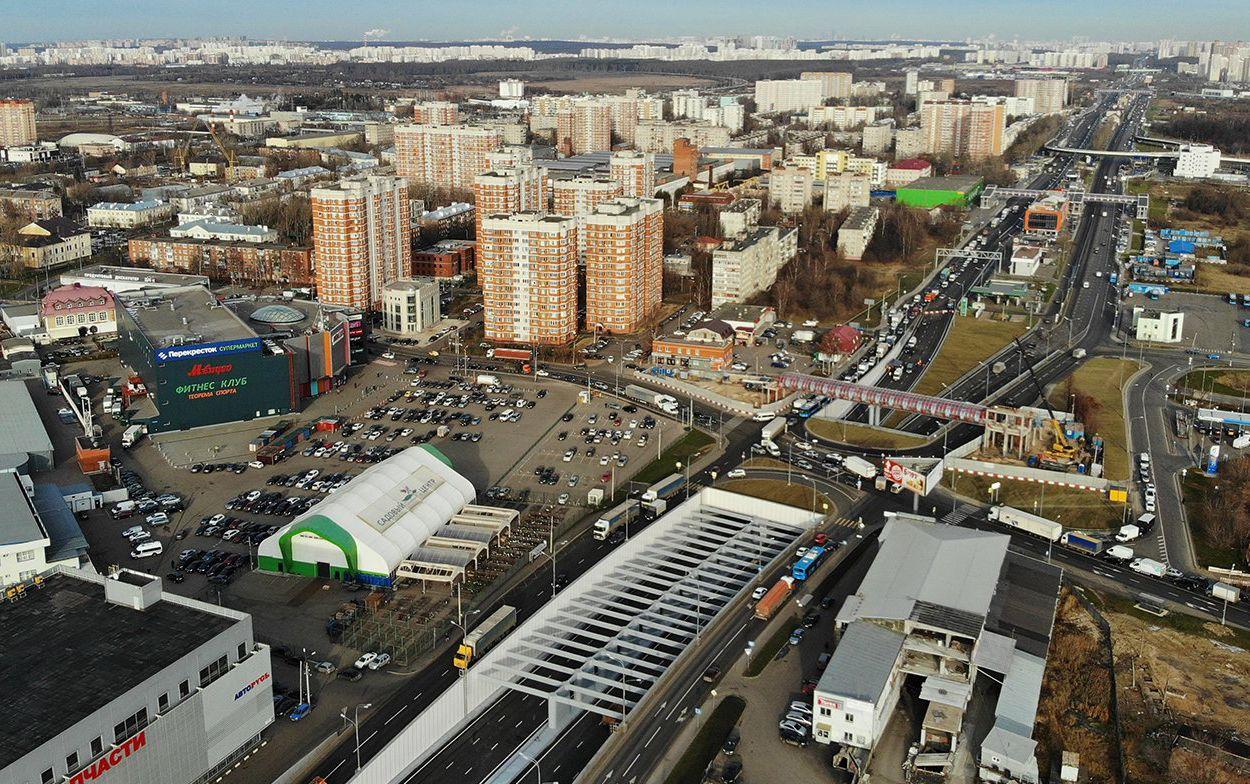 Проект строительства транспортно-пересадочного узла «Варшавская» утвердили