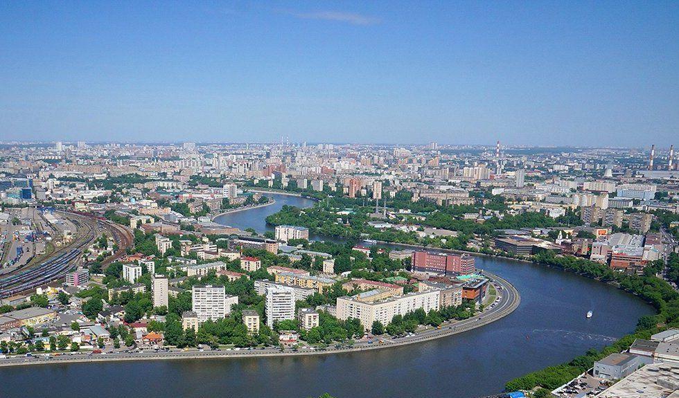 Москву-реку углубили на несколько метров в Даниловском районе