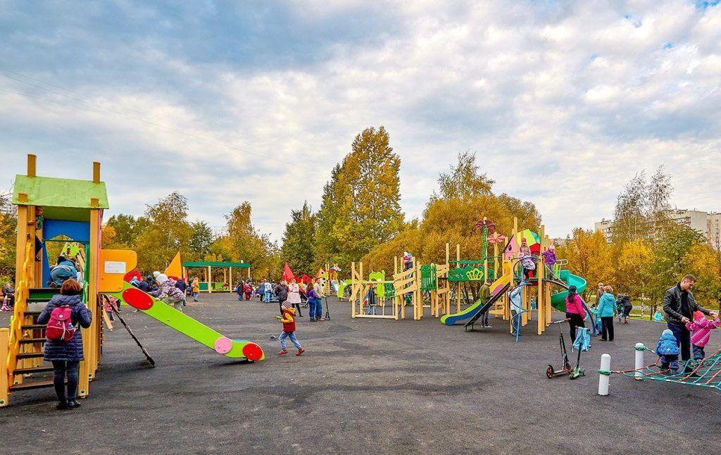 20 игровых комплексов установили в парках юга за 2019 год. Фото: сайт мэра Москвы