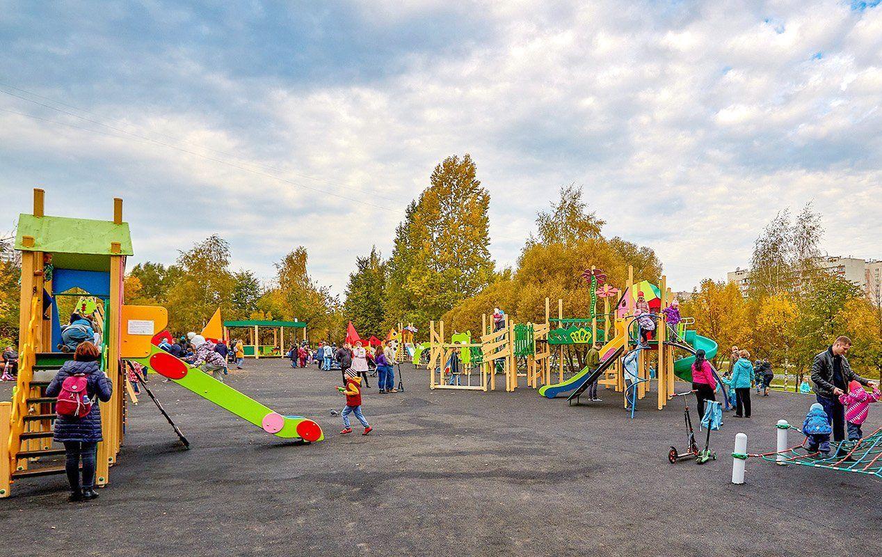 Замки и пираты: 20 игровых комплексов установили в парках юга за 2019 год