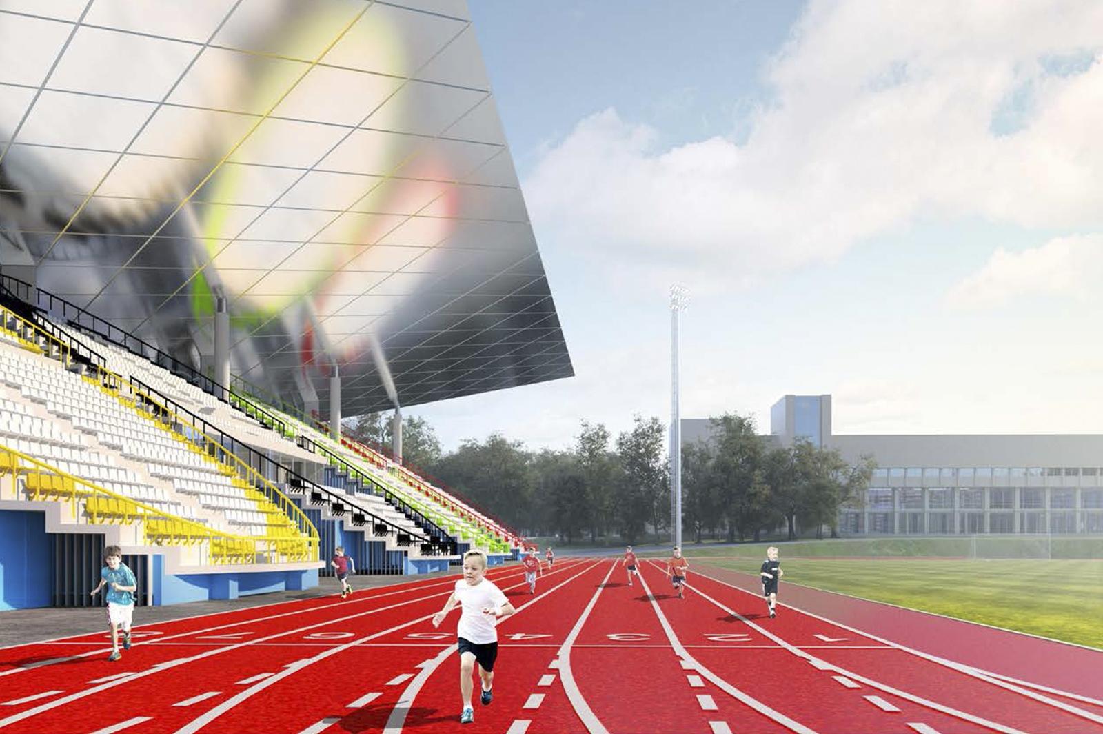 Обновленный стадион «Москвич» на юго-востоке Москвы откроется в 2021 году