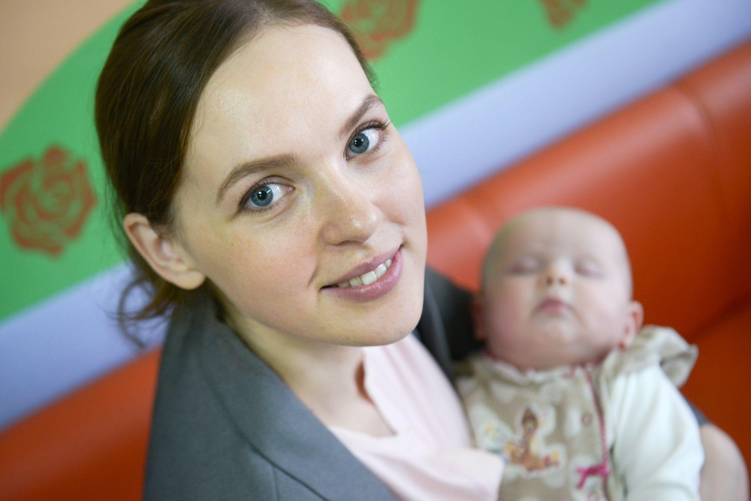 Москвички обретут эмоциональное равновесие после родов. Фото: Наталья Феоктистова
