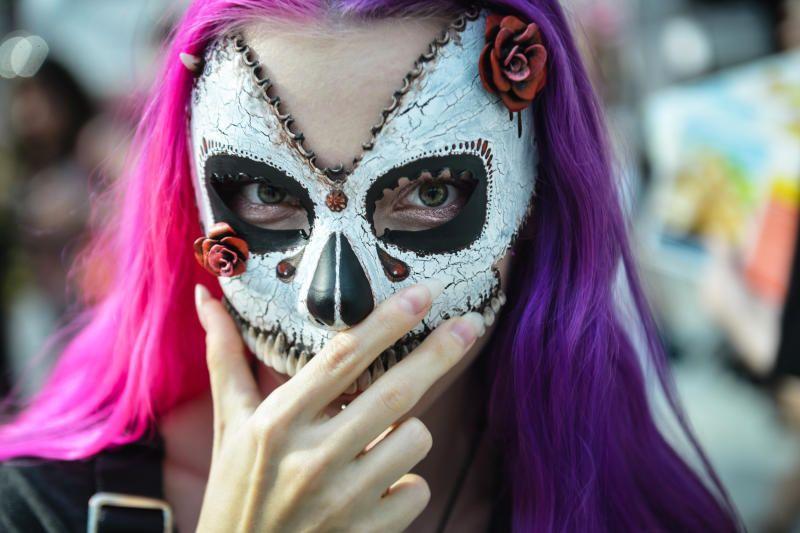 Посетители «Москворечья» смастерят маски к Хэллоуину