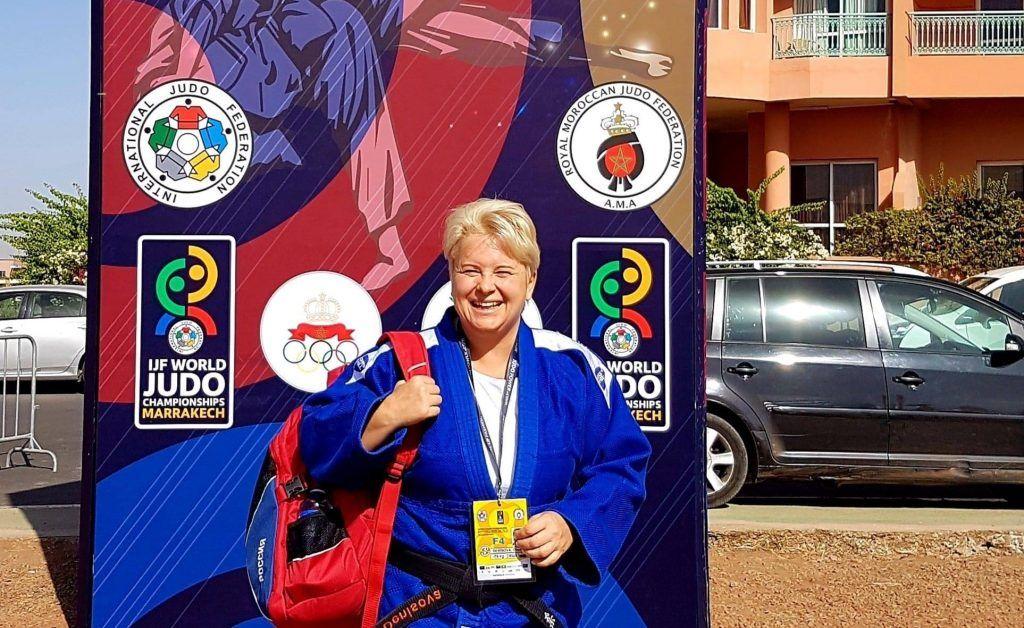 Преподаватель дзюдо из школы №904 заняла пятое место на международных соревнованиях. Фото предоставили сотрудники пресс-службы школы №904