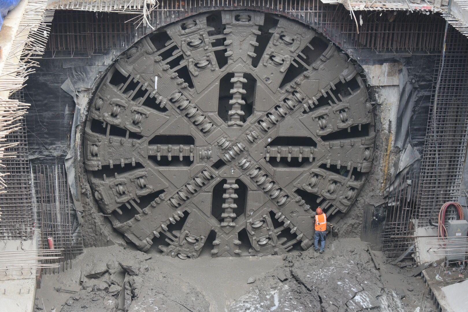 Китайский щит-гигант пророет тоннель БКЛ на юге Москвы