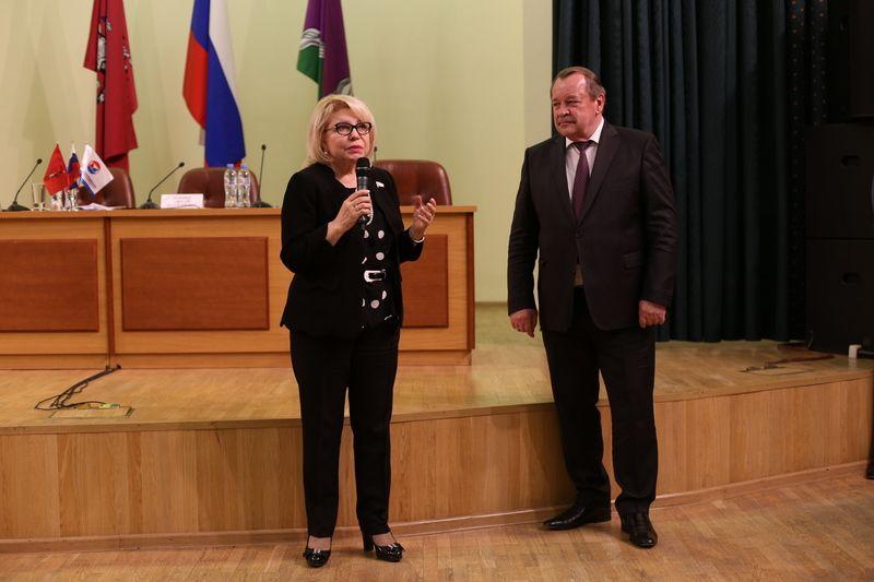 Депутат Государственной Думы Российской Федерации Елена Панина пообщалась с предпринимателями Южного округа