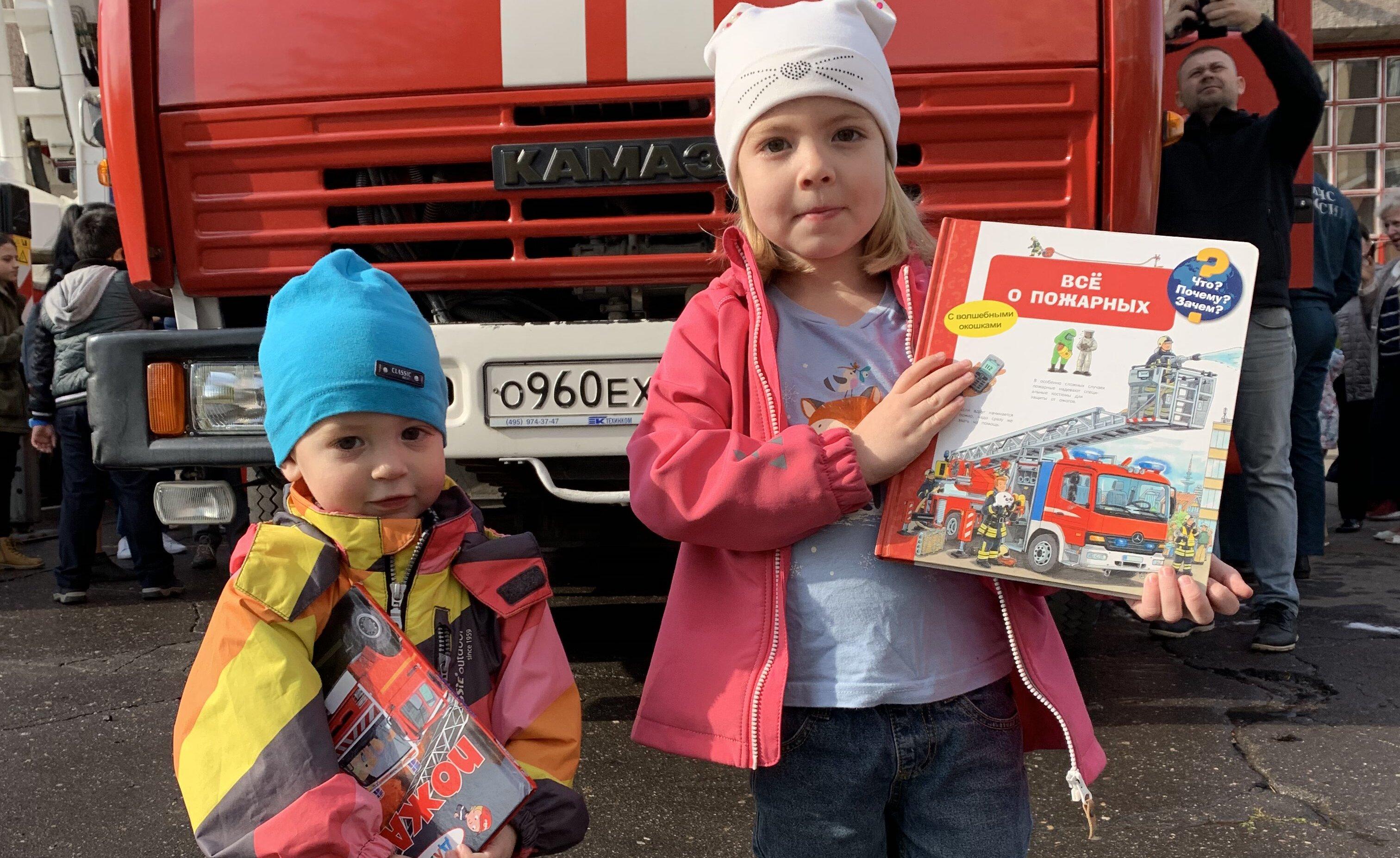 Жители юга побывали на экскурсии по 106-й пожарно-спасательной части