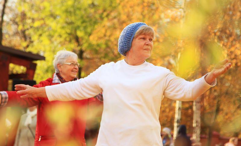 Тренироваться не только полезно для здоровья, но и весело