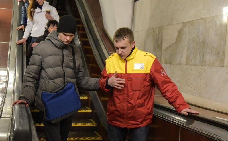 Акцию в метро проведут сотрудники ЦОМП