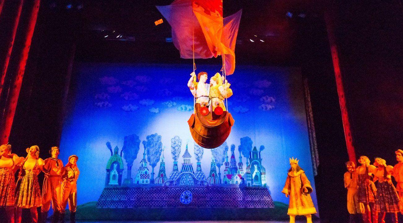 Москвичи увидят спектакль «Театриума на Серпуховке» в прямом эфире