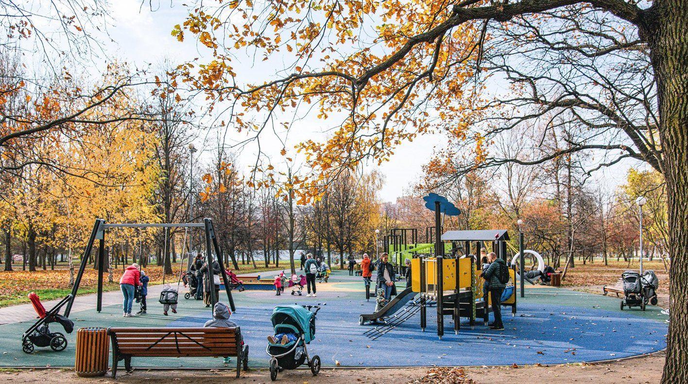 Жителям юга предложили выбрать оформление детских площадок