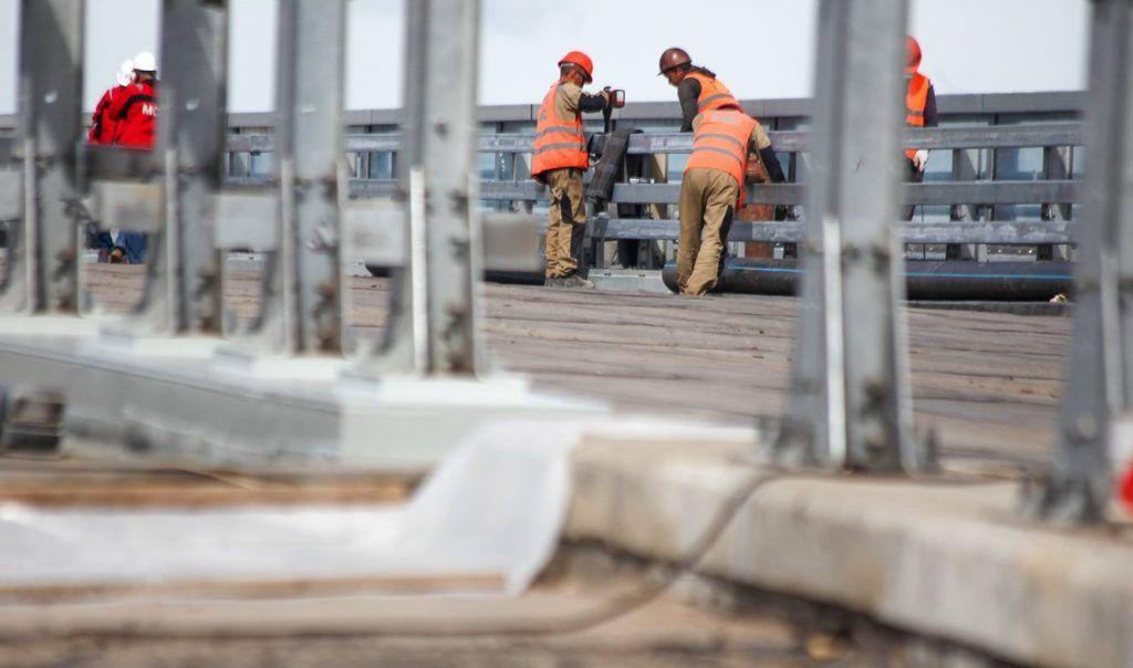 Новый этап реконструкции Дорожной улицы стартовал на юге. Фото: сайт мэра Москвы