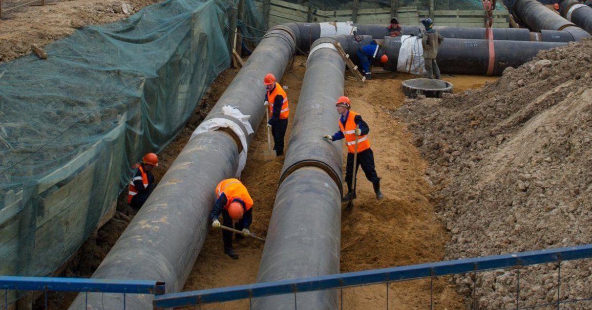 Участок водопровода реконструируют в Нагорном районе
