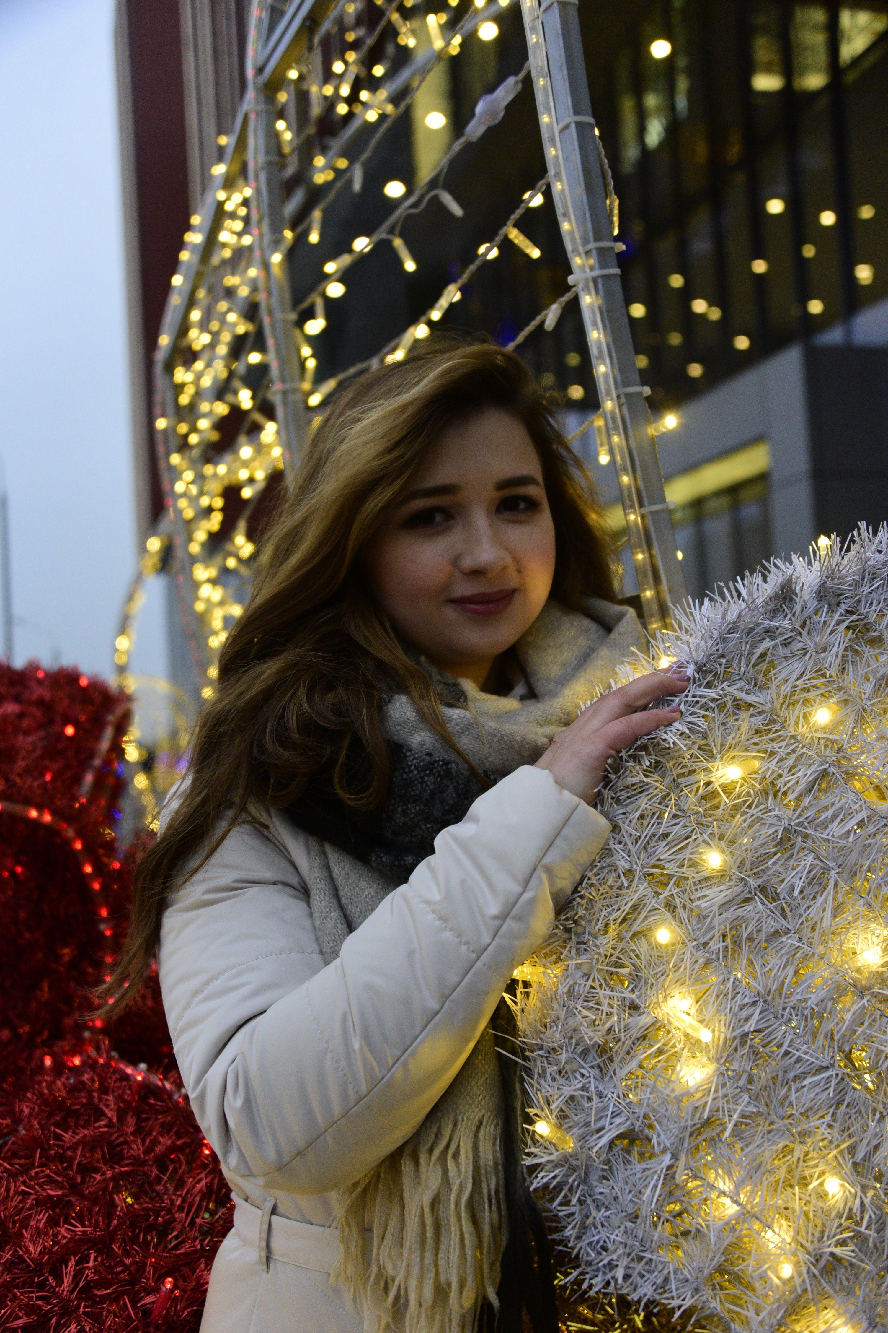 Фотофакт: Новогоднее настроение на Каширке