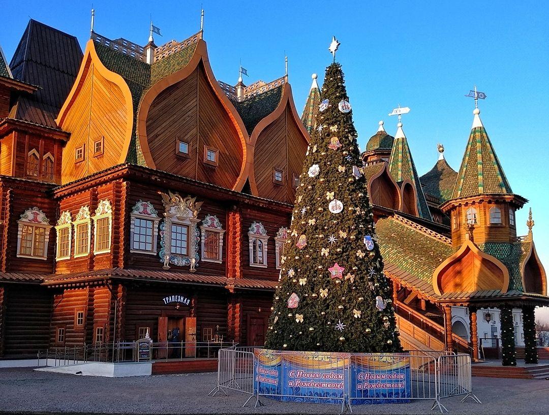 Новый год пришел в музей-заповедник «Коломенское»