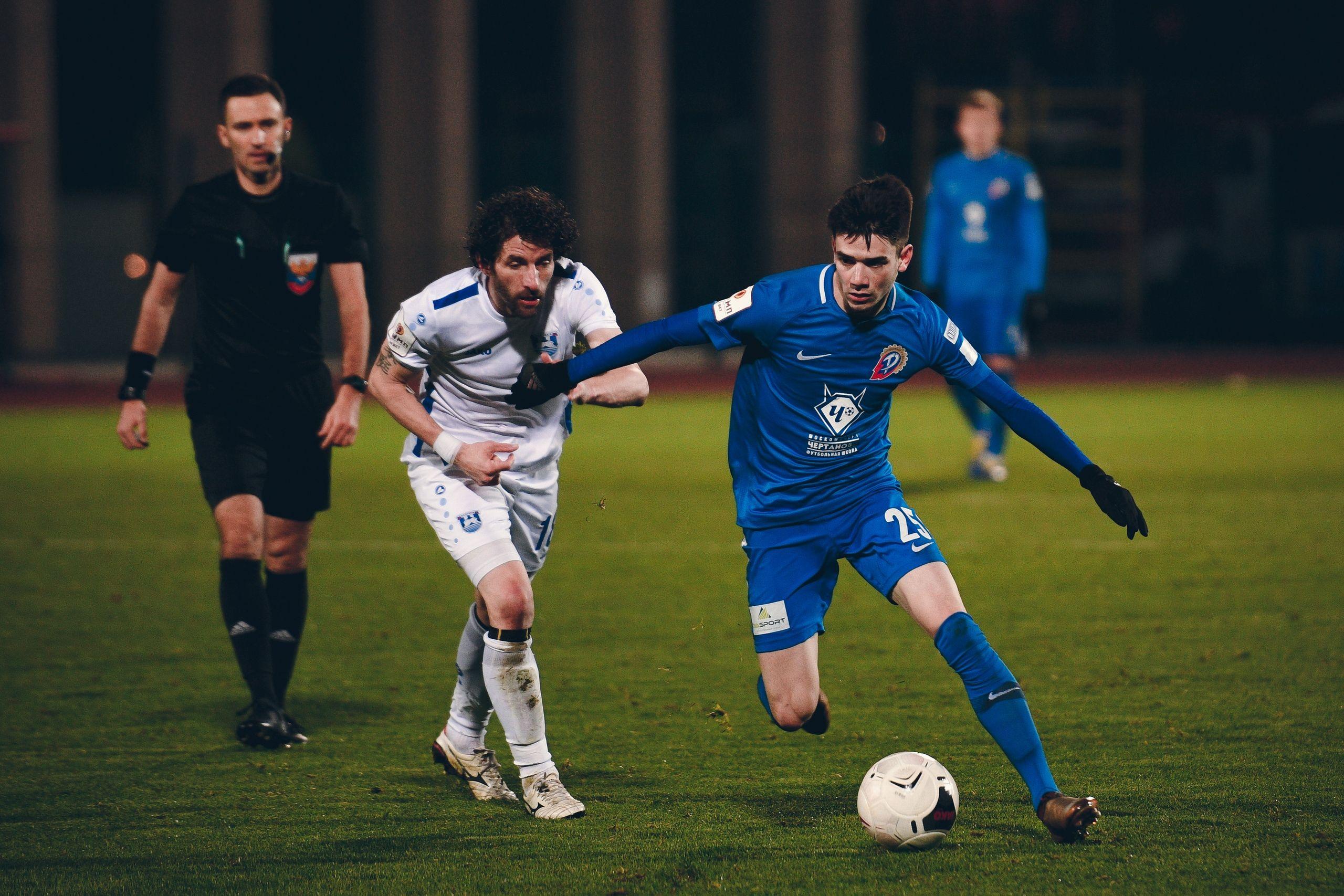 Футболист из «Чертаново» стал самым молодым игроком в Олимп-первенстве