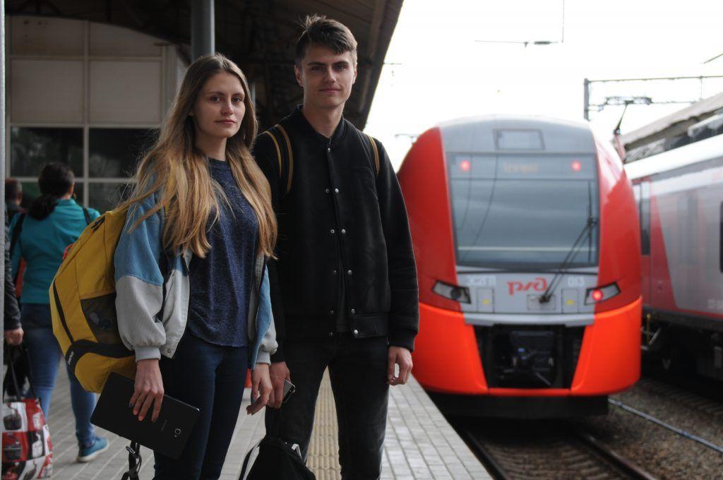 Более трех миллионов пассажиров проехали по МЦК за последнюю неделю. Фото: Светлана Колоскова, «Вечерняя Москва»