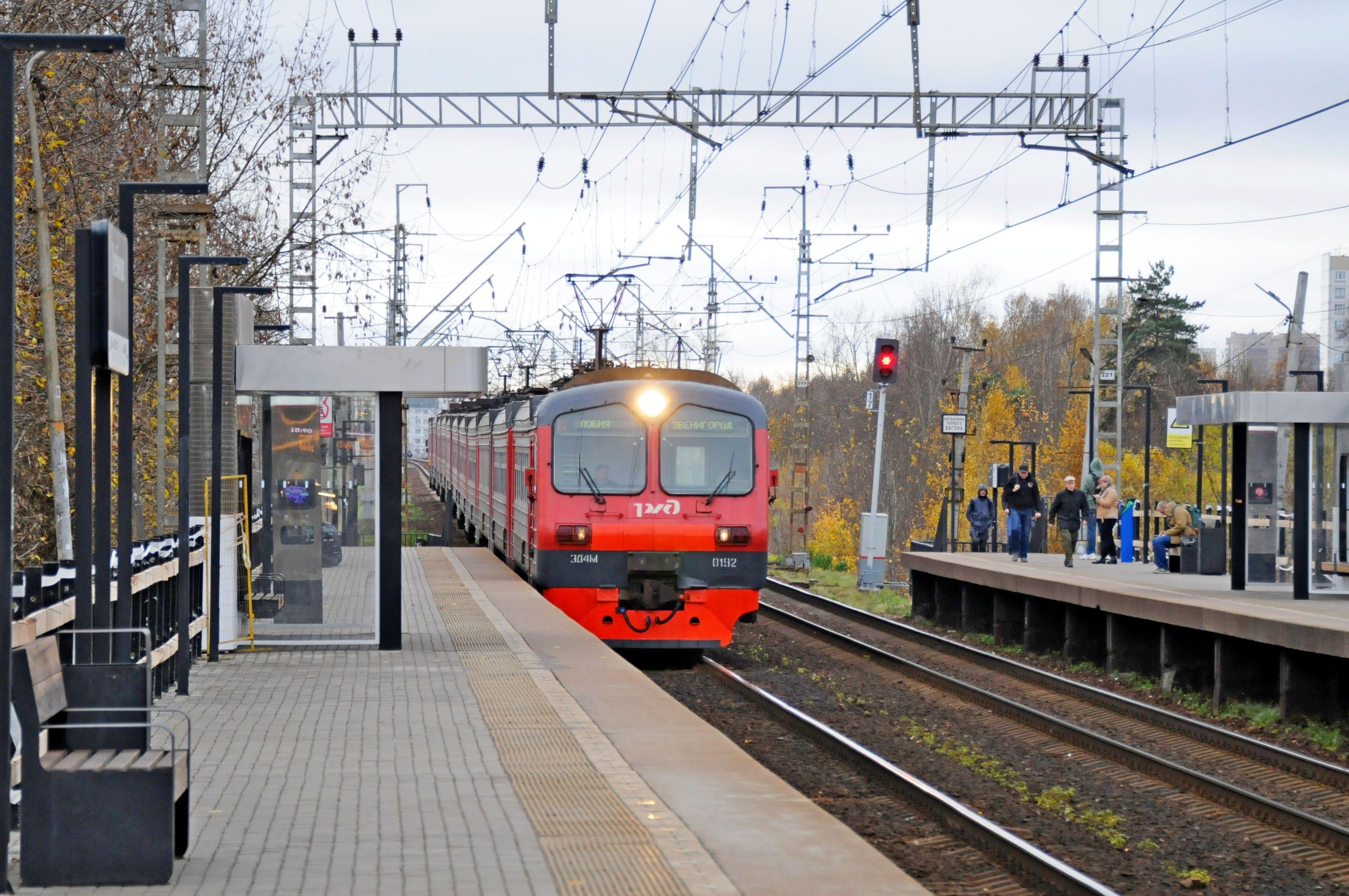 Тактильную плитку и полосу безопасности создали на станции «Савеловская» к запуску МЦД