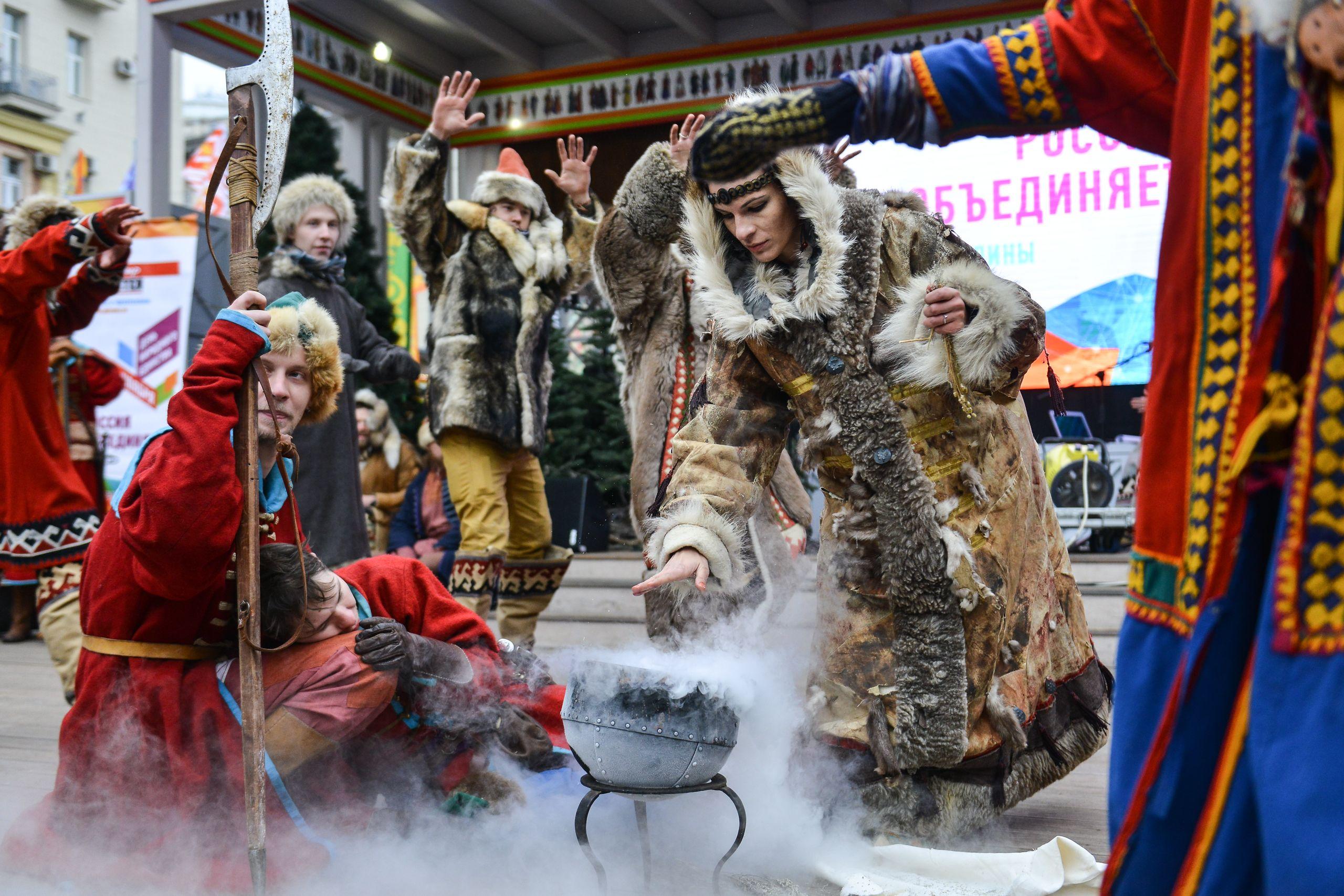 Столичные парки присоединились к празднованию Дня народного единства