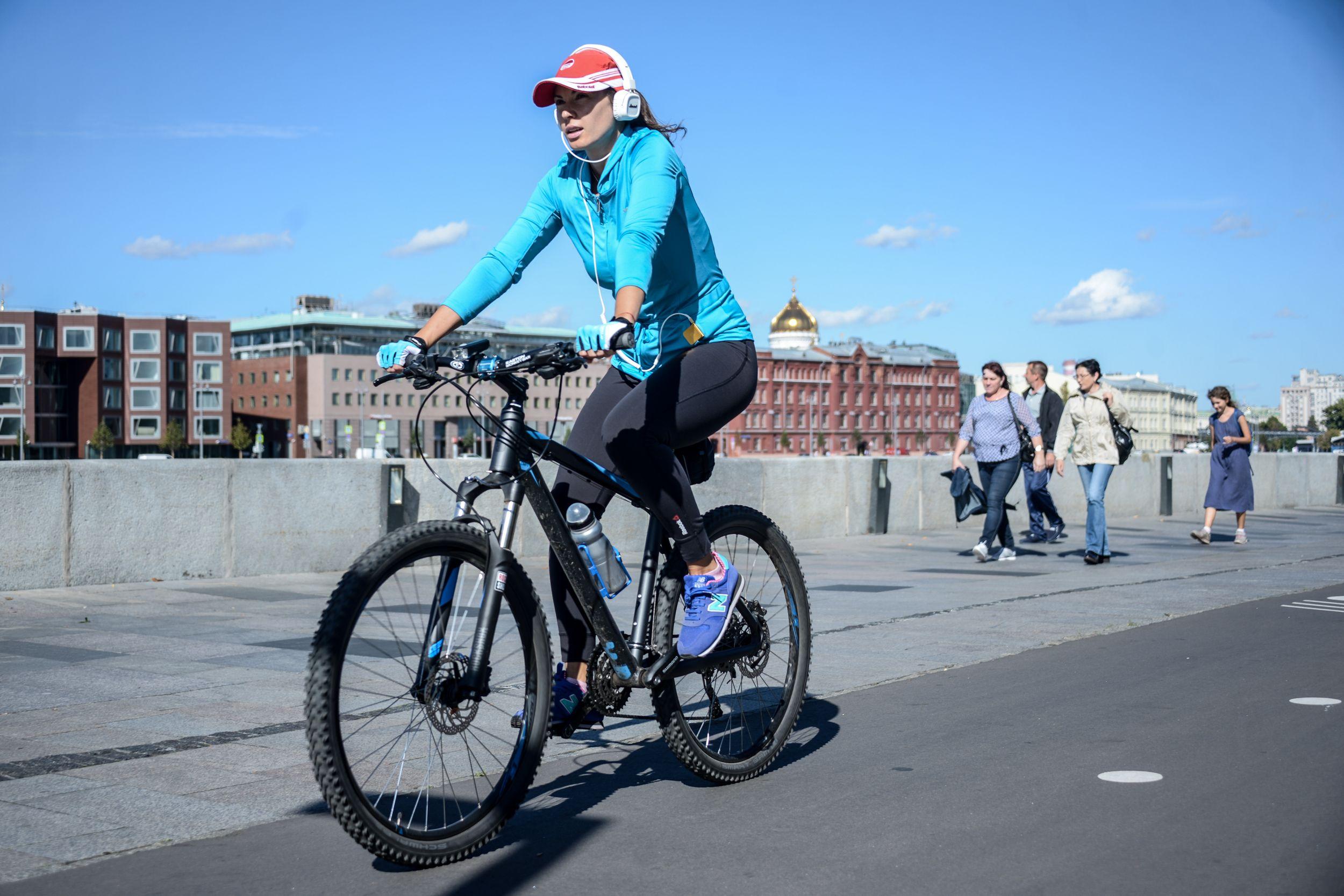 Пользователь московского велопроката доехал до Урала