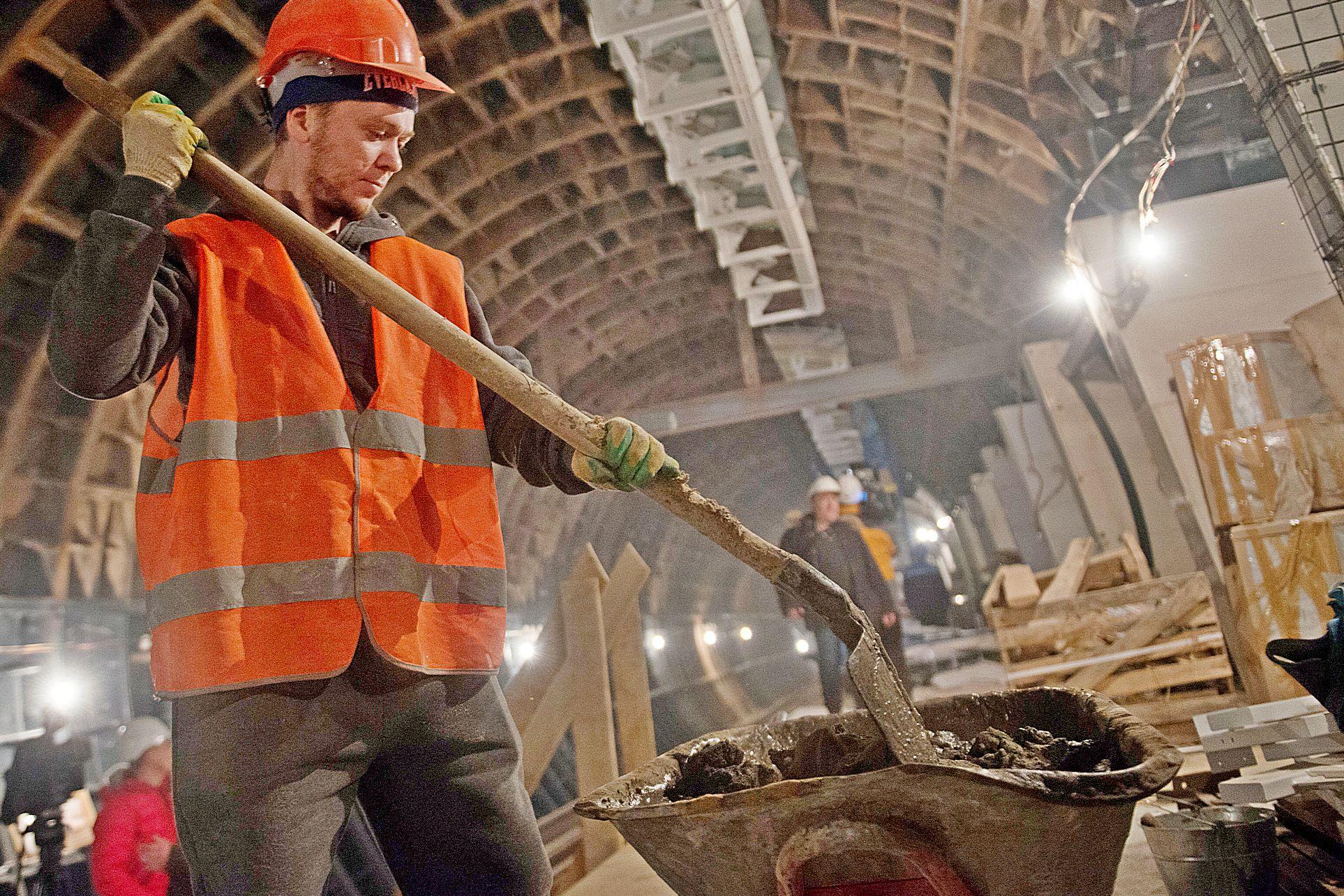 Строительство станции «Улица Генерала Тюленева» стартовало в Москве