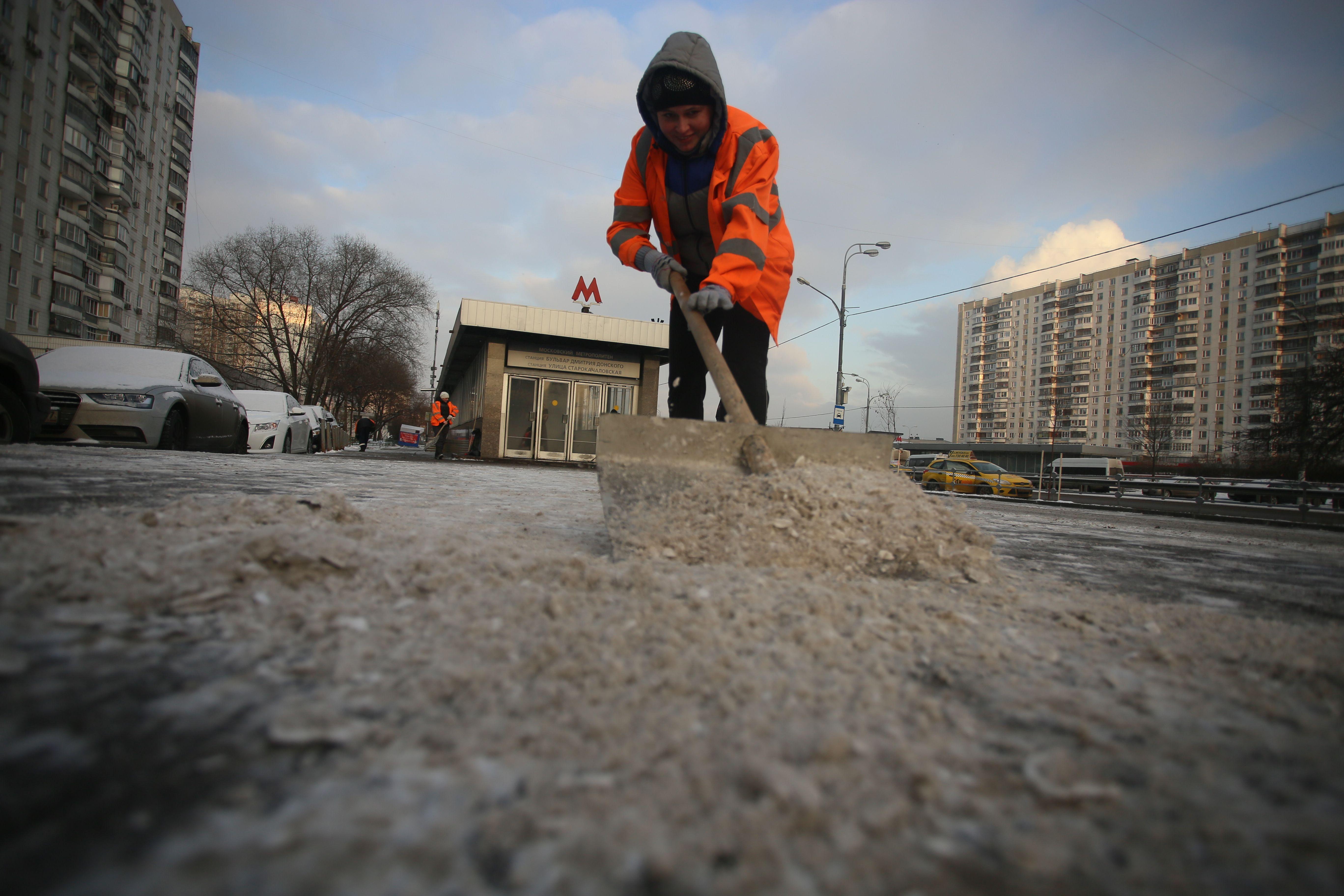 Москвичам пообещали «ледяной панцирь» на дорогах в выходные