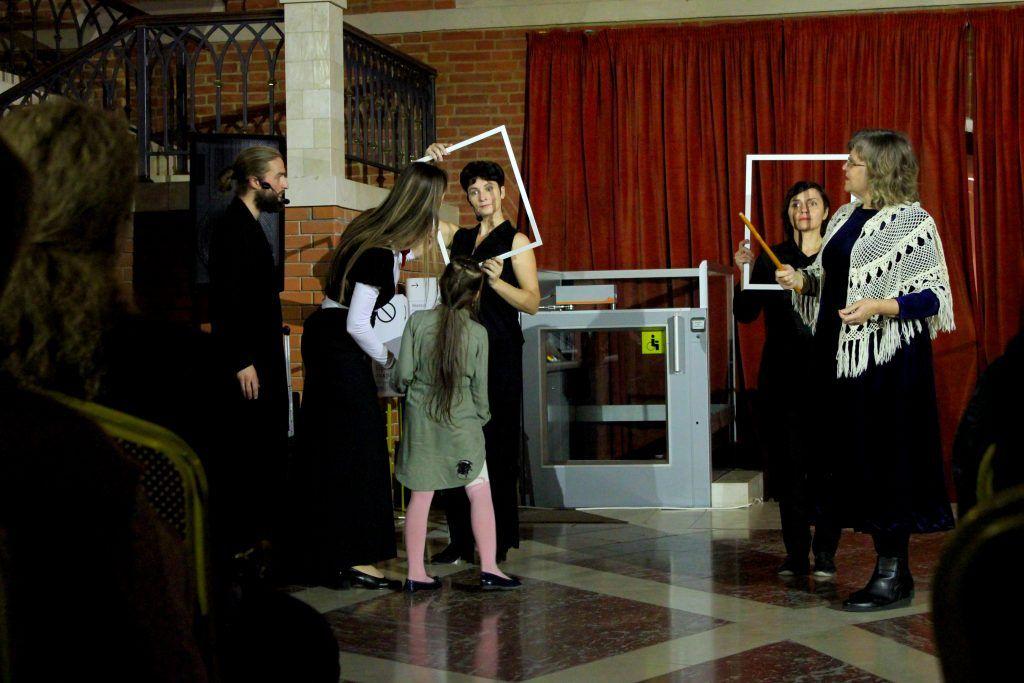 Интерактивный театральный перформанс «Царицыно глазами старожилов». Фото: Мария Канина