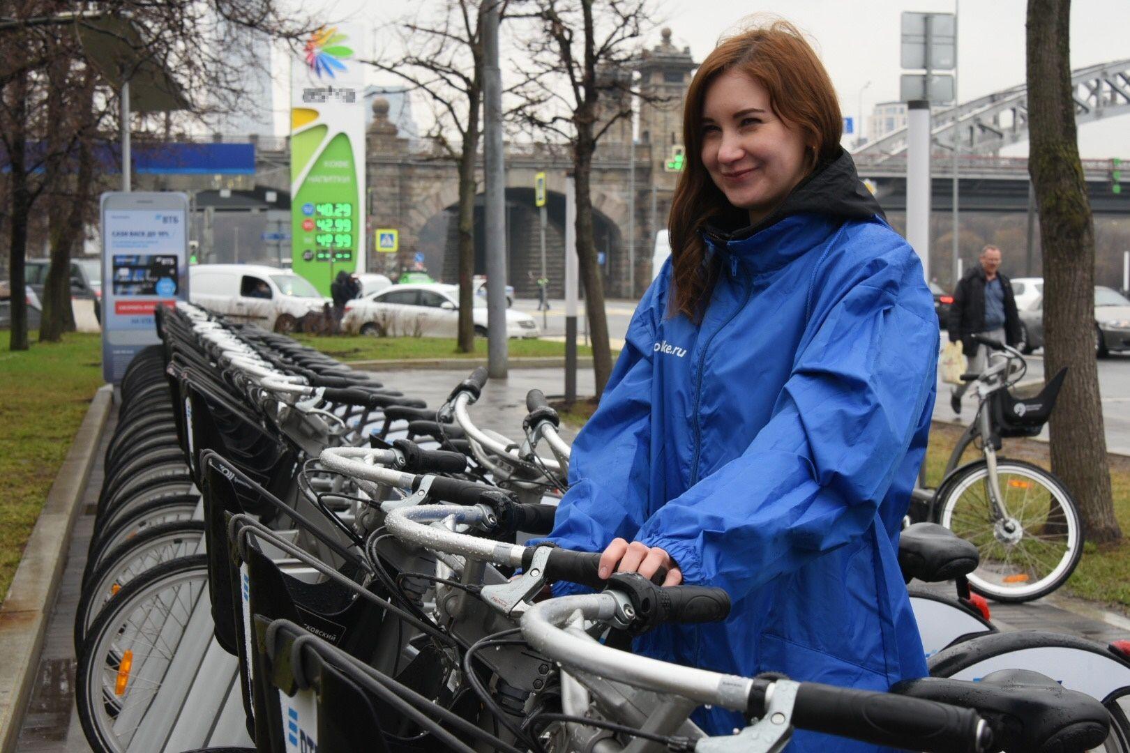 Москвичи могут высказать предложения по развитию сети велопроката