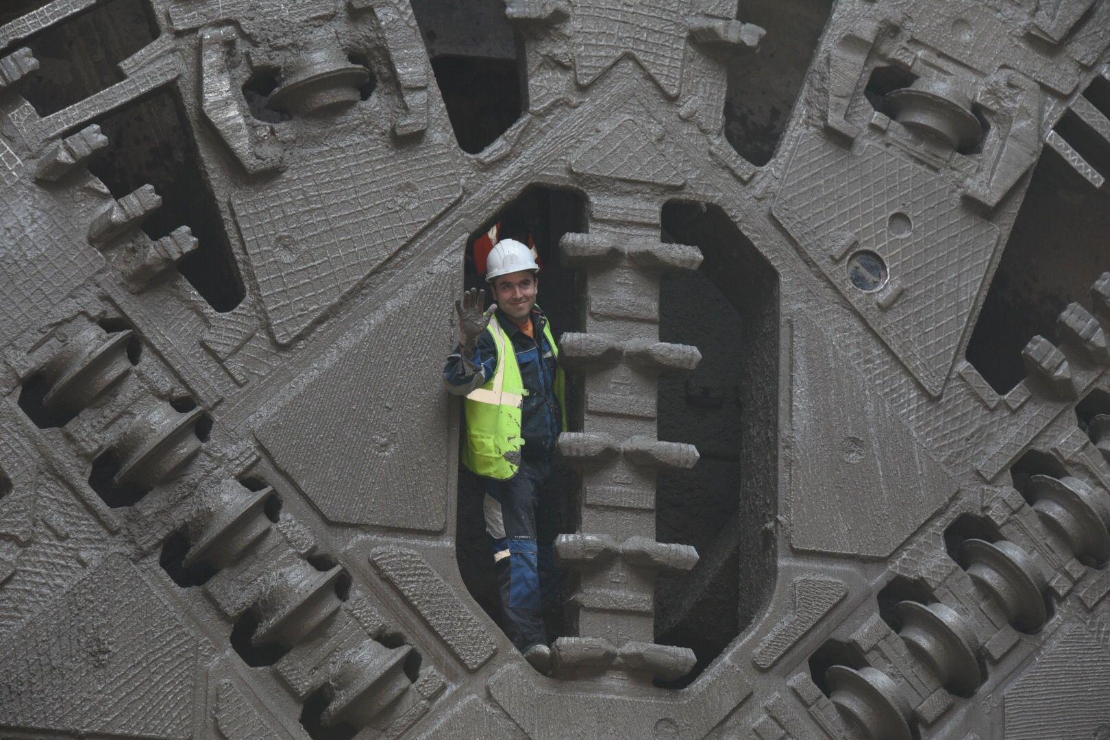 Щит «Лилия» с юго-востока Москвы прорыл полкилометра Большого кольца метро за два месяца