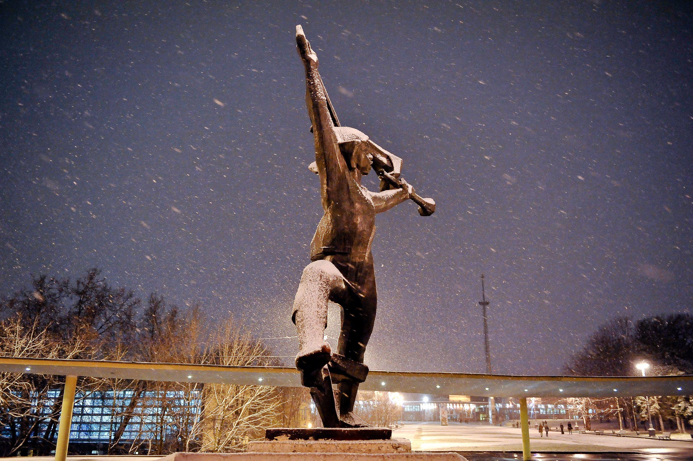 Московские выходные подарят снег и гололедицу