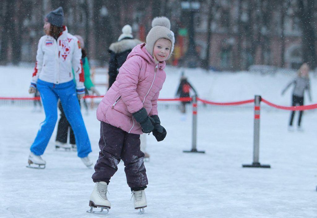 Впервые за шесть лет в «Царицыне» откроют большой ледовый каток. Фото: Наталия Нечаева, «Вечерняя Москва»
